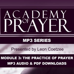 Academy of Prayer Module 3 Correspondence Set